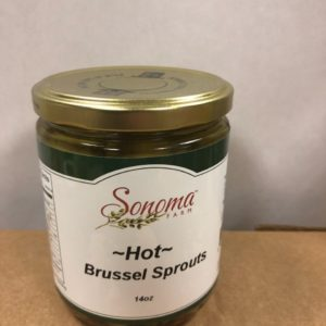 Sonoma Farm Pickled Brussel Sprouts