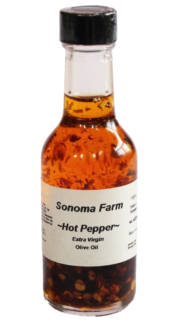 Hot Pepper Olive Oil From Sonoma Farm
