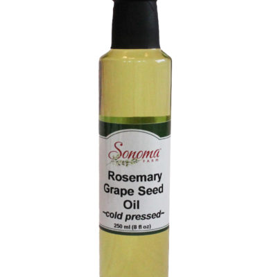 Rosemary Grape Seed Oil From Sonoma Farm