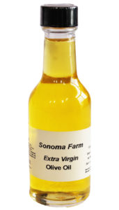 Sample Of EVOO From Sonoma Farm