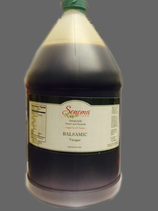 Sonoma Farm Balsamic 1 Gallon Bulk