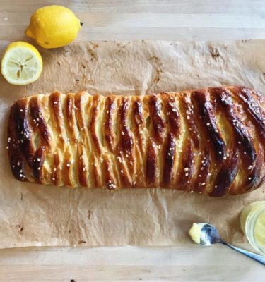 Braided Lemon Olive Oil Bread Recipe