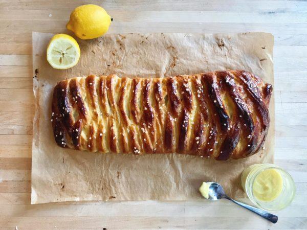 Braided Lemon Olive Oil Bread Recipe
